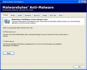 malwarebytesantimalware small Malwarebytes Anti Malware   free malware killer works well