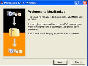 mozbackup small MozBackup fail   file size limit cripples large messagebase backups