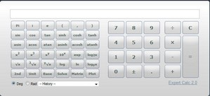 web2calc small Web2.0Calc   glitzy online calculator counts for everything