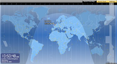worldtimemap small1 World Time Map   all the time you need, in one place