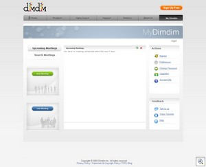 dimdim2 thumb DimDim   free open source web conferencing