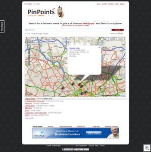 pinpoints thumb PinPoints   cool and useful way to locate the nearby where
