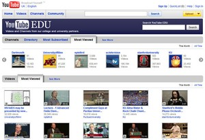 youtubeedu small YouTube Edu   education gets a fab new home