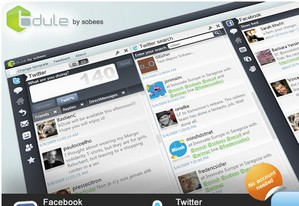 bdule small Bdule   cool Windows based Twitter and Facebook freeware looks v. healthy...