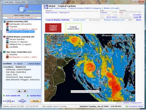 earthalerts small Earth Alerts   freeware delivers disaster news direct to your desktop