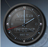 vistaclock Vista Clock   free analog clock with chimes, yeh chimes man