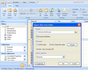 benubird2 small Benubird PDF   personal document manager