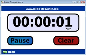 onlinestopwatch small Stay on Top Stop Watch   free stopwatch helps you keep time from a distance