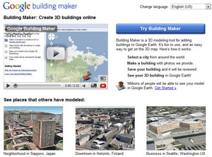 googlebuildingmaker small Google Building Maker : recreating the world, one pixel at a time