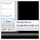 googlewavefirefoxaddon Google Wave Add on For Firefox   free plugin brings Wave to your browser