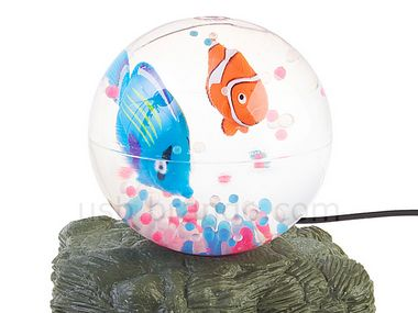 usbsquishthefish USB Squish the Fish   USB Aquarium meets squash ball