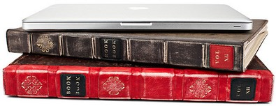 bookbook small BookBook   disguise your Apple laptop as a vintage book