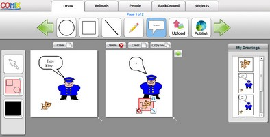 comix2 small Comix   free online comic creator is fun and easy to use