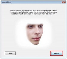 blink2 small Blink!   freeware lets you log into your Windows computer with your face