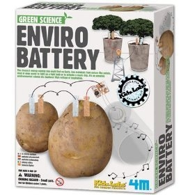 envirobatterykit3 1 Enviro Battery Kit   Turns just about anything into a battery