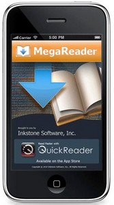 megareader small MegaReader   fab new ebook reader for iPhone offers 1.8 million free ebooks