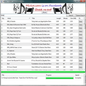 mulve small Mulve   freeware music finder offers 10 million tracks for free download