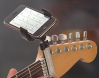 guitarsidekick small Guitar Sidekick   keep your smartphone where you need it
