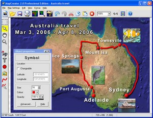 mapcreator small MapCreator 2.0   freeware lets you build your own cool maps