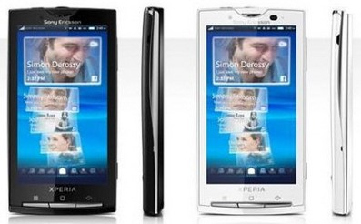 sonyericssonexperiax10 small1 Sony Ericsson Xperia X10 gets Android 2.1 upgrade...for some...