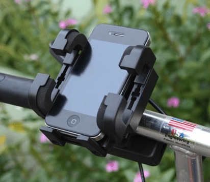 universalcellphonebikemountcharger Universal Cell Phone Bike Mount Charger   ride and power all in one