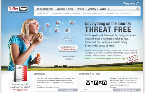 bufferzonepro4 small BufferZone Pro   the ultimate Internet security freeware