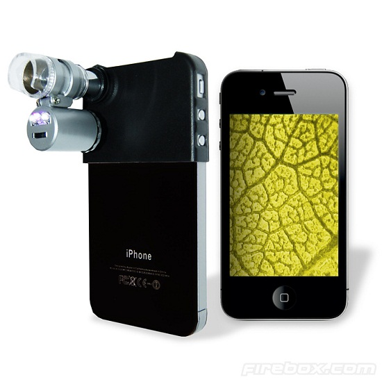 Turn your iPhone into a microscope with a 60x magnifying lens