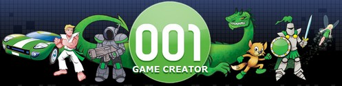 001gamecreator small 001 Game Creator   freeware turns you into an ace game maker