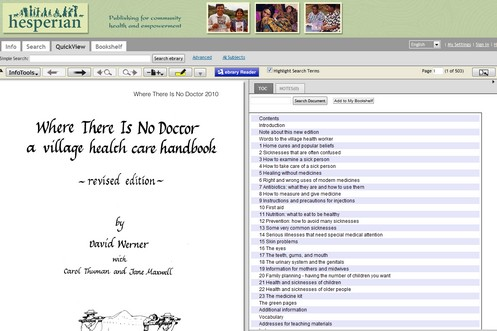 wherethereisnodoctor small Where There is No Doctor   free village health care handbook