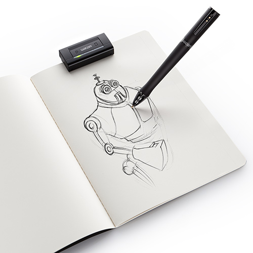 Wacom Inkling captures your ink sketches as vector images