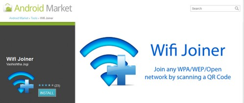 wifijoiner small WiFi Joiner   Android app makes it a breeze to log on to a strange WiFi network