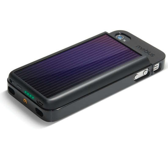 81167 Mobius Solar iPhone Battery helps you on your path to be �green�