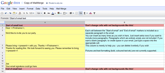 mailmerge Use this MailMerge script to personalize a batch of emails