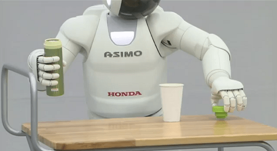 ASIMO Hondas newest ASIMO video demonstrates just how much a robot can do