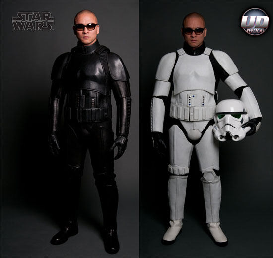 stormtrooper motorcycle Stormtrooper Motorcycle Suits will make you the envy of every geek on the road