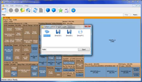 download screenshot Find out whats taking up space on your hard drive with SpaceSniffer [Daily Freeware]