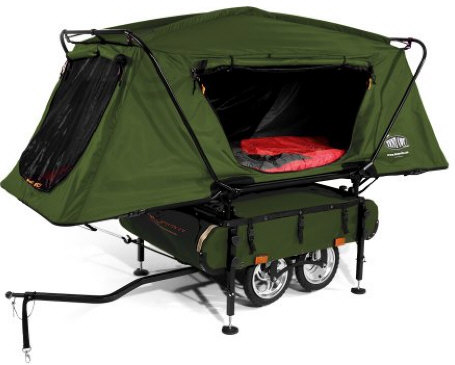 kamp ritebicyclecampingtrailer Kamp Rite Bicycle Camper Trailer makes every place your home