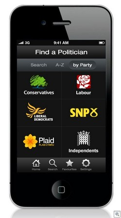 rateapolitician2 thumb Worlds first Rate A Politician app may be the democratic answer weve been waiting for