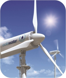 wms1000windturbine Harvesting water and energy from desert air