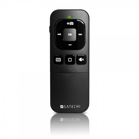 Satechi Bluetooth Multi-Media Remote Control makes convenience only a click away