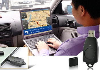 usbgpsreceiver2 USB GPS Receiver turns your laptop into a fancy satnav device