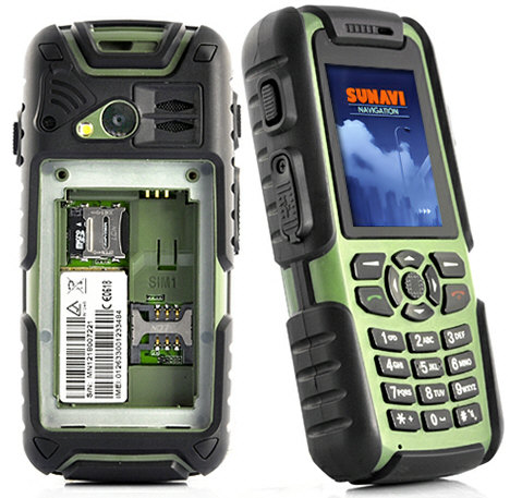 vigisruggedmobilephone Vigis Cell Phone Walkie Talkie is Rambo rugged and oh so versatile