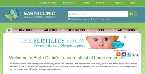 earthclinic Earth Clinic   sometimes when it comes to health, your grandma still knows best!