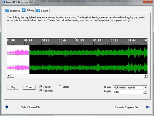 freemp3ringtonemaker Free MP3 Ringtone Maker produces surprisingly great results [Freeware]