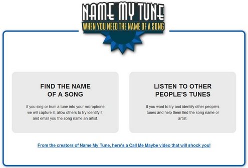 namemytune Name My Tune   find the name of that song you cant remember