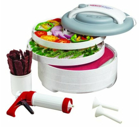 nescosnackmaster NESCO SnackMaster Express Food Dehydrator   make your own snacks at home