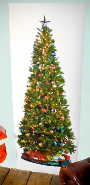printedxmastreeposter The Printed Christmas Tree Poster guarantees youll have the worst Christmas ever