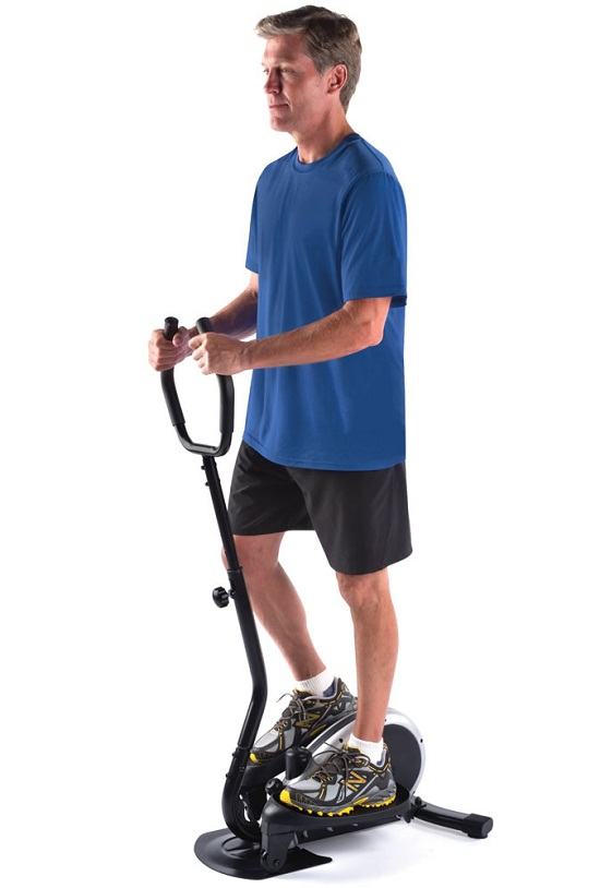 Compact Elliptical Trainer Compact Elliptical Trainer   no pain, no gain!