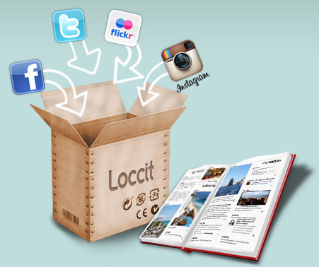 loccit2 Loccit   your social networks activity...in a printed diary