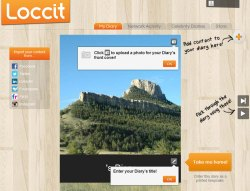 Loccit – your social networks activity…in a printed diary